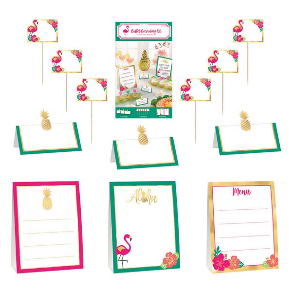 Hawaiian Aloha Mini Buffet Decoration Kit